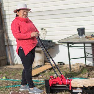 Zoila Guzman Working on the Yeard
